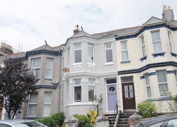 Thumbnail 4 bed terraced house for sale in Wesley Avenue, Plymouth