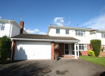 Thumbnail 4 bed detached house for sale in Frankholmes Drive, Shirley, Solihull