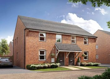 "Thumbnail 3 bed semi-detached house for sale in ""Strathmore"" at Broughton Crossing, Broughton, Aylesbury"