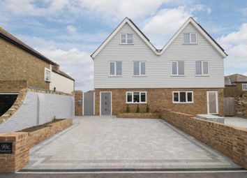 Thumbnail 5 bed semi-detached house for sale in Golf Road, Deal