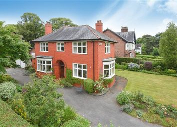 Thumbnail 4 bed detached house for sale in Hawthorn Lane, Wilmslow