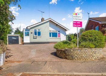 Thumbnail 3 bed detached bungalow for sale in Hampton Avenue, Thurlton, Norwich