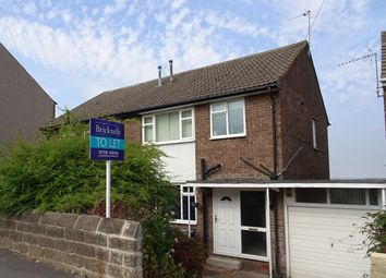 Thumbnail 3 bed semi-detached house to rent in Heavygate Road, Crookes, Sheffield