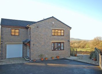 Thumbnail 4 bed detached house for sale in Tomwood Rise, Charlesworth, Glossop