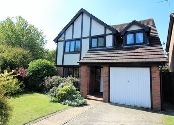 Thumbnail 4 bedroom detached house for sale in Chigwell Close, Nuthall, Nottingham