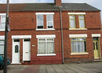 Thumbnail 3 bed terraced house to rent in Kirk Street, Hexthorpe, Doncaster
