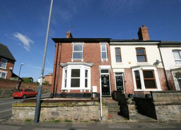 Thumbnail 4 bed end terrace house to rent in Village Street, Normanton, Derby