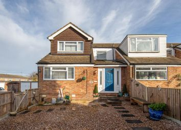Thumbnail 3 bed end terrace house for sale in Churchill Road, Dunstable, Bedfordshire