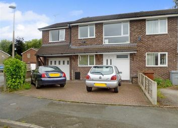 Thumbnail 3 bed mews house for sale in Gowy Close, Alsager, Stoke-On-Trent
