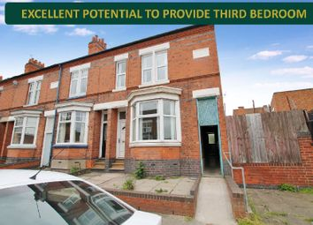 Thumbnail 2 bed end terrace house for sale in Spencer Street, Oadby, Leicester