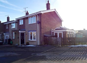 Thumbnail 3 bed end terrace house for sale in Brierley Gardens, Otterburn, Newcastle Upon Tyne