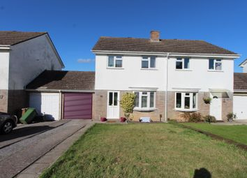 Thumbnail 3 bed semi-detached house for sale in Lych Close, Turnchapel, Plymouth.
