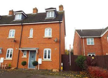 Thumbnail 3 bed end terrace house for sale in Mallard Court, Oakham, Rutland