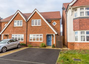 Thumbnail 3 bed semi-detached house for sale in Stevens Court, Wellingborough Road, Earls Barton, Northampton