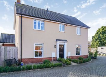 Thumbnail 3 bed detached house for sale in Ernest Seaman Close, Diss
