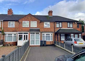 Thumbnail 2 bed terraced house to rent in Arkley Road, Hall Green, Birmingham