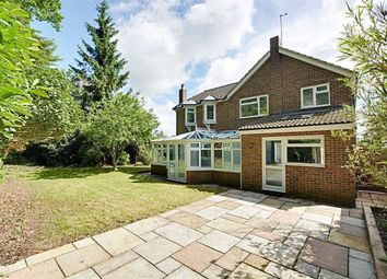 Thumbnail 4 bed detached house for sale in Woodhall Close, Bengeo, Hertford