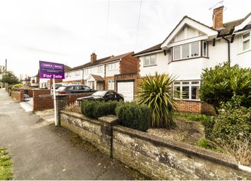 Thumbnail 3 bed semi-detached house for sale in Byron Road, South Croydon