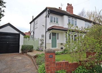 Thumbnail 3 bed semi-detached house for sale in Wyncliffe Gardens, Moortown, Leeds