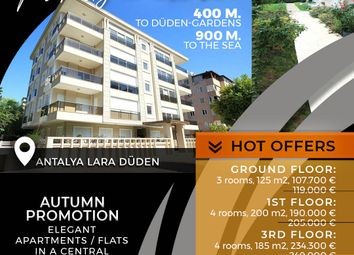 Thumbnail 3 bed apartment for sale in Lara, Antalya Province, Mediterranean, Turkey