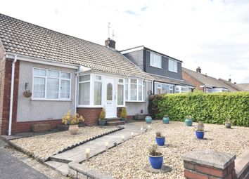 Thumbnail 2 bed semi-detached bungalow to rent in Glendale Road, Shiremoor, Newcastle Upon Tyne