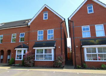 Thumbnail 4 bed town house for sale in Dashwood Close, Camberley