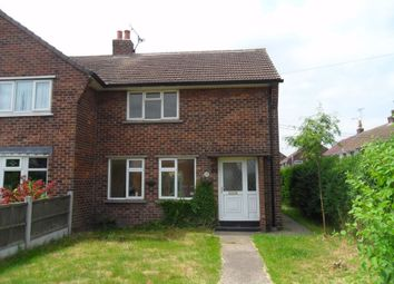 Thumbnail 2 bed semi-detached house to rent in Headland Avenue, Elkesley, Retford, Nottinghamshire