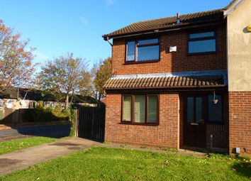 Thumbnail 3 bed semi-detached house to rent in Heron Close, Wellingborough