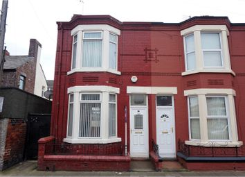 Thumbnail 3 bed end terrace house for sale in Bellamy Road, Liverpool
