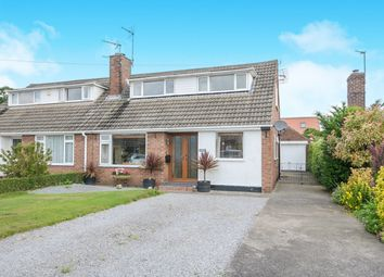 Thumbnail 3 bed semi-detached house for sale in Woodland Way, Huntington, York