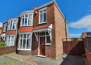 Thumbnail 3 bed semi-detached house for sale in Cleveland Avenue, Linthorpe, Middlesbrough