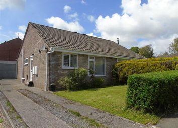 Thumbnail 2 bed semi-detached bungalow for sale in Heol Y Drudwen, Parc Gwernfadog, Swansea