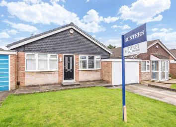 Thumbnail 2 bed detached bungalow to rent in Sandringham Road, Worsley, Manchester