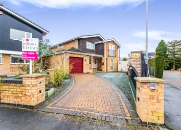 Thumbnail 4 bedroom detached house for sale in Peascliffe Drive, Grantham