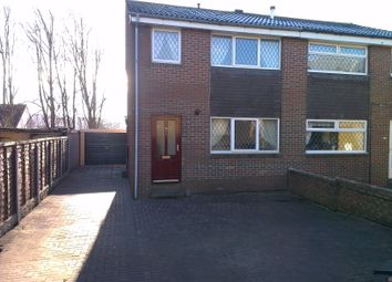 Thumbnail 3 bed semi-detached house to rent in Tyndale Walk, Batley