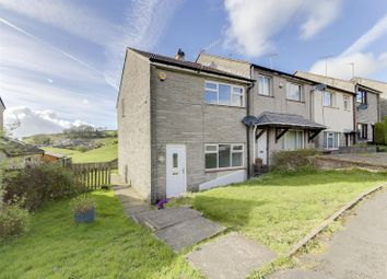 Thumbnail 2 bed end terrace house for sale in Tunstead Crescent, Stacksteads, Bacup