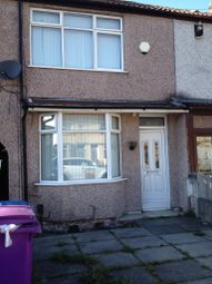 Thumbnail 3 bed terraced house to rent in Haydn Road, Liverpool