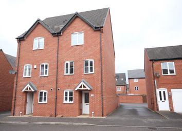Thumbnail 4 bed semi-detached house for sale in Foss Road, Hilton, Derby