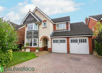 Thumbnail 4 bed detached house for sale in Ferney Road, Cheshunt, Waltham Cross