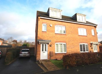 Thumbnail 4 bed semi-detached house for sale in Colliers Way, Huntington, Cannock