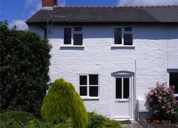 Thumbnail 2 bed end terrace house to rent in Abbey Terrace, Welshpool, Powys