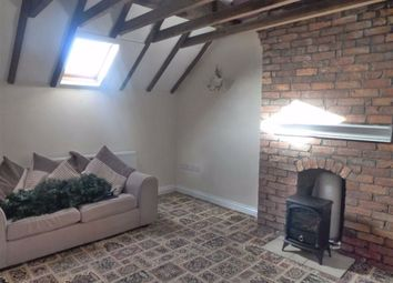 Thumbnail 2 bed flat to rent in Roost Hill Farm, Bradnop, Nr Leek, Staffordshire