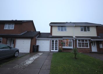Thumbnail 2 bed semi-detached house to rent in Stoneythorpe Close, Solihull
