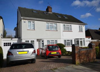 Thumbnail 5 bed semi-detached house for sale in Chestnut Drive, Harrow Weald, Middlesex