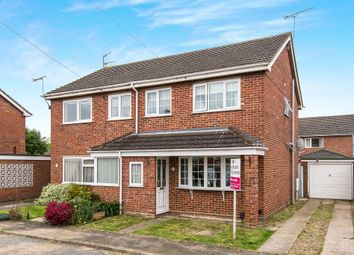 Thumbnail 3 bedroom semi-detached house for sale in Church View Close, Sprowston, Norwich