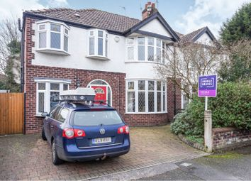 Thumbnail 4 bed semi-detached house for sale in Thurleigh Road, Manchester