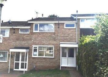 Thumbnail 3 bed terraced house for sale in Glastonbury Close, Ipswich