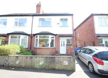 Thumbnail 3 bed semi-detached house for sale in Wellington Street, Stretford, Manchester