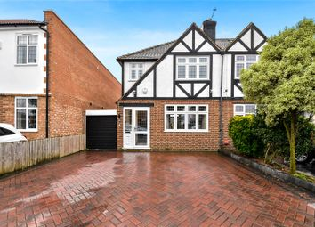 Thumbnail 3 bed semi-detached house for sale in Oakfield Lane, Wilmington, Kent
