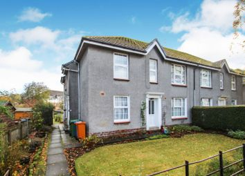 Thumbnail 3 bed flat for sale in Craigton Avenue, Glasgow